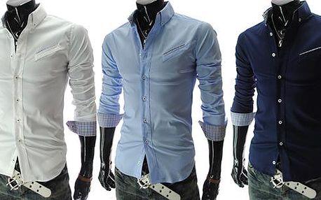 Moderní pánská slim-fit košile pro každou příležitost