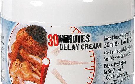 30 Minutes Delay Cream 50 ml, krém pro oddálení ejakulace