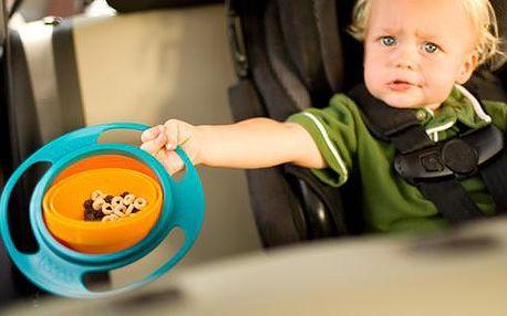 Nevyklopitelná miska pro děti