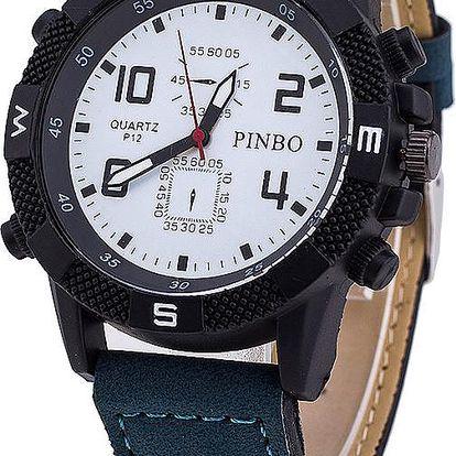 Pánské hodinky s propracovaným ciferníkem