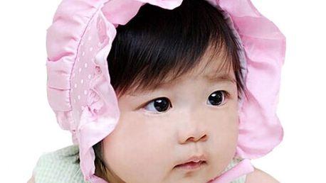Roztomilá čepička pro malé princezny