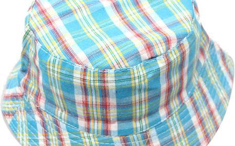 Letní barevný klobouk pro kluky i holky