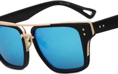 Unikátní sluneční brýle se zlatou aplikací