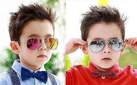 Dětské sluneční brýle - pilotky