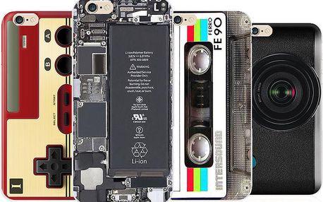 Jedinečný silikonový obal na iPhone 6/6s - mnoho originálních motivů