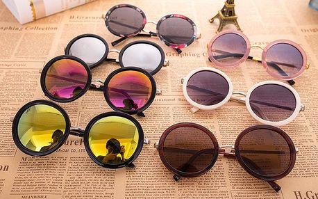 Vintage kulaté sluneční brýle