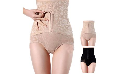 Vysoké kalhotky se stahovacím pásem na břicho