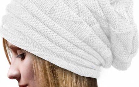 Dámská stylová pletená čepice