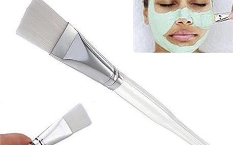 Široký štětec pro aplikaci kosmetických masek