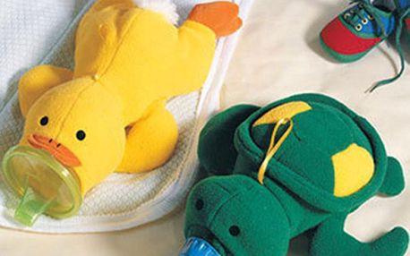 Návlek na kojeneckou láhev kačenka nebo želvička