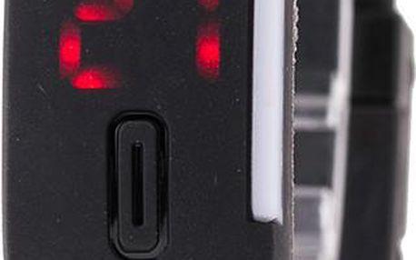 Hranaté silikonové sportovní hodinky s dotykovým ciferníkem