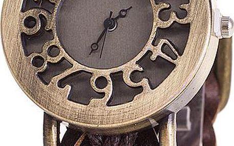 Robustní hodinky z masivní kůže
