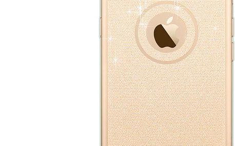 Nádherný třpytivý silikonový kryt na iPhone 5/5s/6s/6 plus - více barev