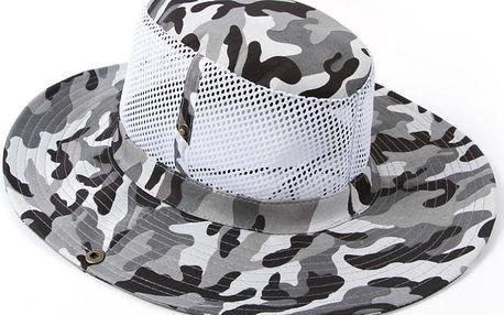Pánský letní klobouk na kempování