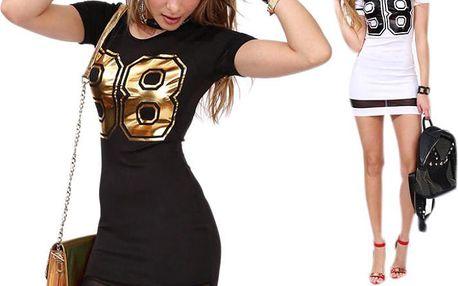 """Sportovní šaty s potiskem """"98"""""""