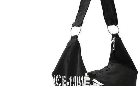Plátěná taška přes rameno s nastavitelným popruhem