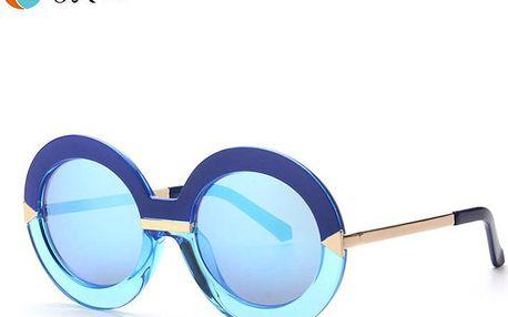 Super retro kulaté sluneční brýle