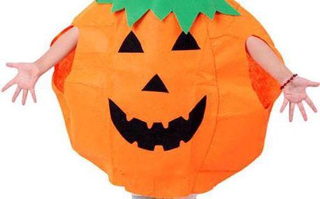 Dětský kostým dýně s čepičkou