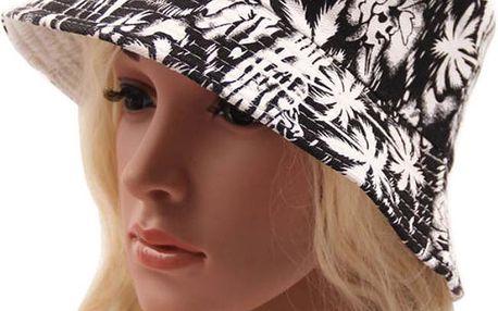 Dámský letní látkový klobouk s různými vzory