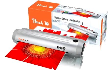 Peach Home Office A3 silver line (PL716 new), 125mic + laminovací fólie