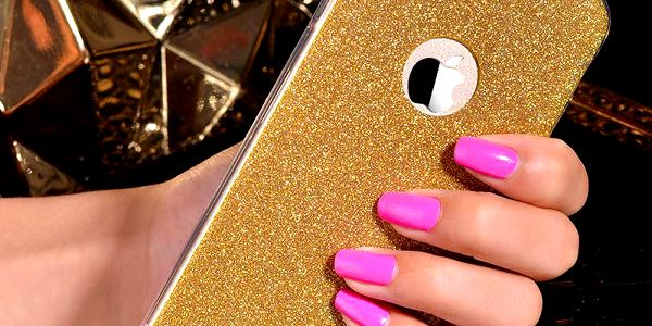 Vysoce třpytivý silikonový obal na iPhone 6/6s a 6 Plus/6s Plus