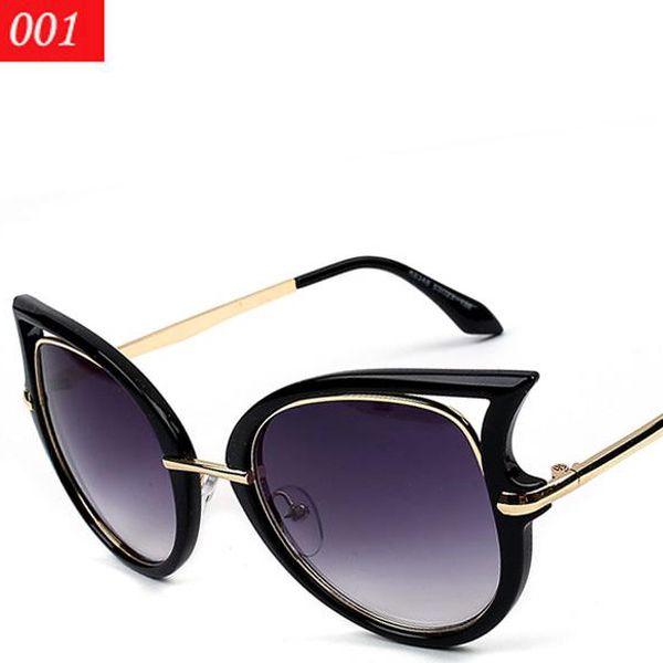 Exkluzivní dámské sluneční brýle s lehce extravagantními obroučky
