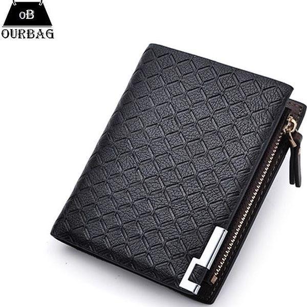 Elegantní pánská peněženka s ozdobným pouzdrem