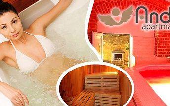 Vstup pro 2osobyna 90 minut do luxusního wellness centra v centru Prahy! Nádherná 4 metrová vířivka, finská sauna z cedrového dřeva, bazének, masážní lehátko a mnoho dalšího! Včetně zapůjčení županu, ručníku i prostěradla! Užijte si relax, který vás nab