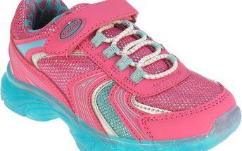Beppi Dívčí sportovní tenisky se třpytkami - růžovo-tyrkysové, EUR 30