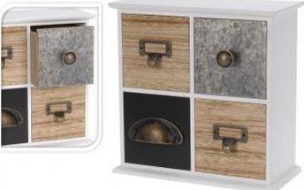 Skříňka se čtyřmi zásuvkami EXCELLENT KO-HZ1102900 Skříňka se čtyřmi zásuvkami EXCELLENT KO-HZ1102900