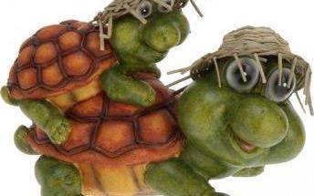 Zahradní dekorace želva s malou želvou na zádech - Typ 2 ProGarden KO-252550860typ2 Zahradní dekorace želva s malou želvou na zádech - Typ 2 ProGarden KO-252550860typ2