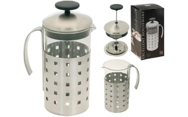 Konvička na čaj a kávu nerez French Press 1 l ProGarden KO-170280400 Konvička na čaj a kávu nerez French Press 1 l ProGarden KO-170280400