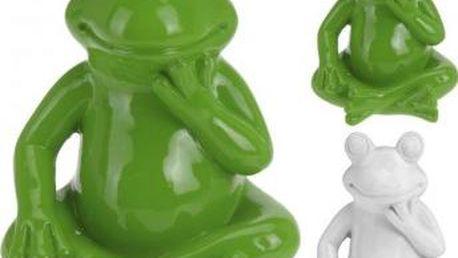 Zahradní dekorace žába malá 14 x 11 cm ProGarden KO-795200330 Zahradní dekorace žába malá 14 x 11 cm ProGarden KO-795200330