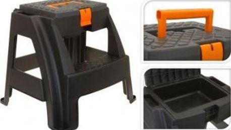 Stolička s úložným boxem na nářadí ProGarden KO-Y98285010 Stolička s úložným boxem na nářadí ProGarden KO-Y98285010