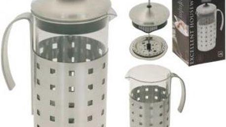 Konvička na čaj a kávu nerez French Press 1 l ProGarden KO-170280400 Konvička na čaj a kávu nerez French Press 1 l ProGarden KO-170280400
