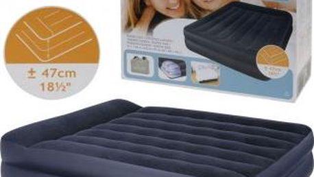 Nafukovací postel s vestavěnou elektrickou pumpou EXCELLENT KO-I03000220 Nafukovací postel s vestavěnou elektrickou pumpou EXCELLENT KO-I03000220
