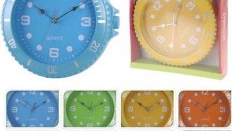 Hodiny nástěnné 30 cm, modré ProGarden KO-566000040modr Hodiny nástěnné 30 cm, modré ProGarden KO-566000040modr