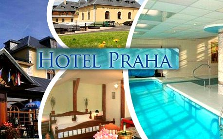 Dovolená v 3*hotelu Praha s polopenzí + 1 dítě zdarma do 6 let, neomezený vstup do vnitřního bazénu.
