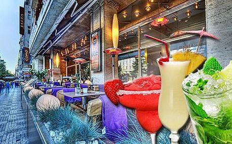 50% sleva na veškeré koktejly dle výběru v luxusní restauraci Como na Václavském náměstí