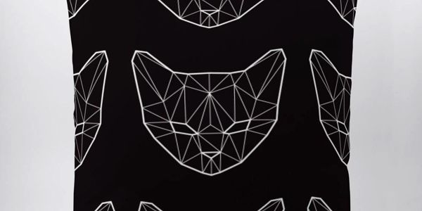 Polštář Geometric Cat