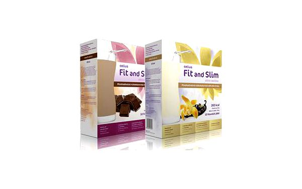 Celius Fit and Slim ultra 2x480 g (vanilka + čokoláda)