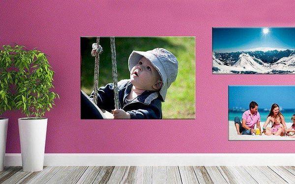 Fotoobraz na plátně na dřevěném rámu