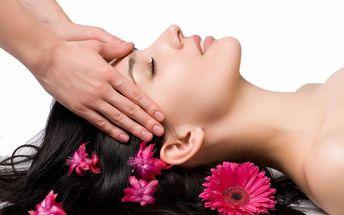 Uvolňující masáž hlavy, obličeje i dekoltu