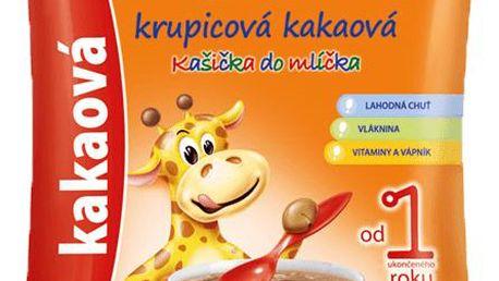 Sunarka krupicová kakaová kašička do mlíčka (150g) - nemléčna kaše