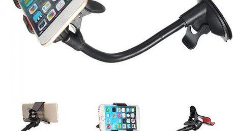 Držák na mobilní telefony nebo GPS na čelní sklo auta