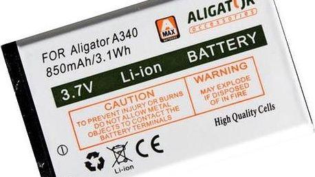 Aligator A340 baterie 850mAh Li-Ion