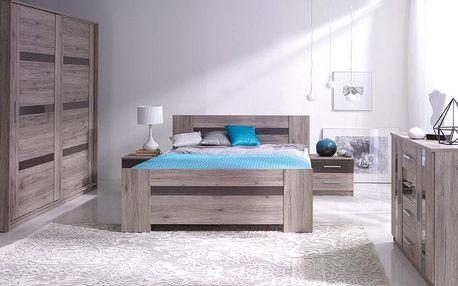 Stylový nábytek do ložnice ORLANDO Sestava 5