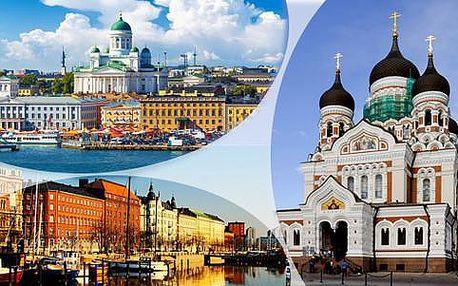 Expedice Pobaltím: Litva, Lotyšsko, Finsko a Estonsko s dopravou a ubytováním se snídaní