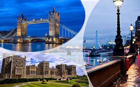 Poznávací zájezd do Londýna, Stonehenge, Oxfordu nebo Windsoru, s ubytováním a snídaní v ceně