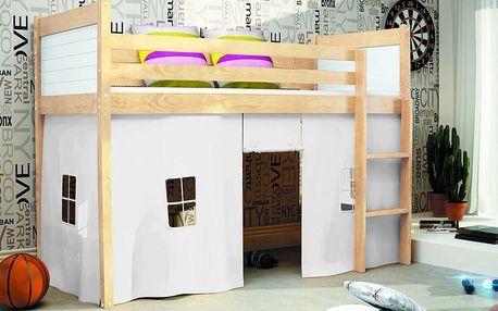 Patrová postel jednolůžková Rico High Sleeper